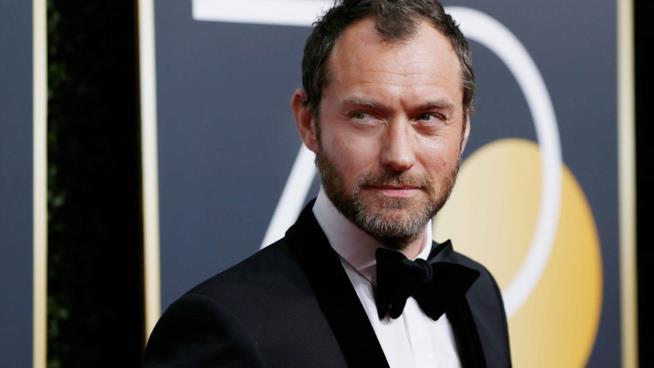 L'attore inglese Jude Law