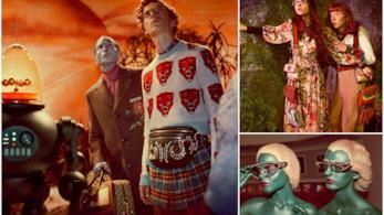 Alcune immagini della nuova campagna di Gucci