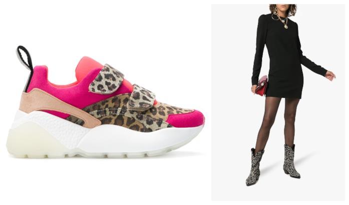 Scarpe animalier di moda per l'autunno inverno 2018-19