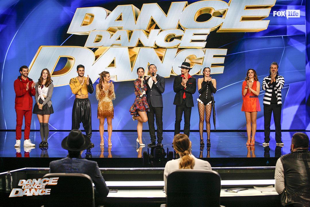 Il cast del sesto serale di Dance Dance Dance