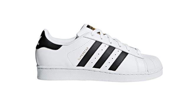 Adidas Superstar con righe nere
