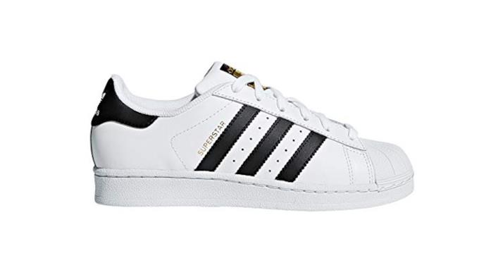 Adidas Superstar con righe nere