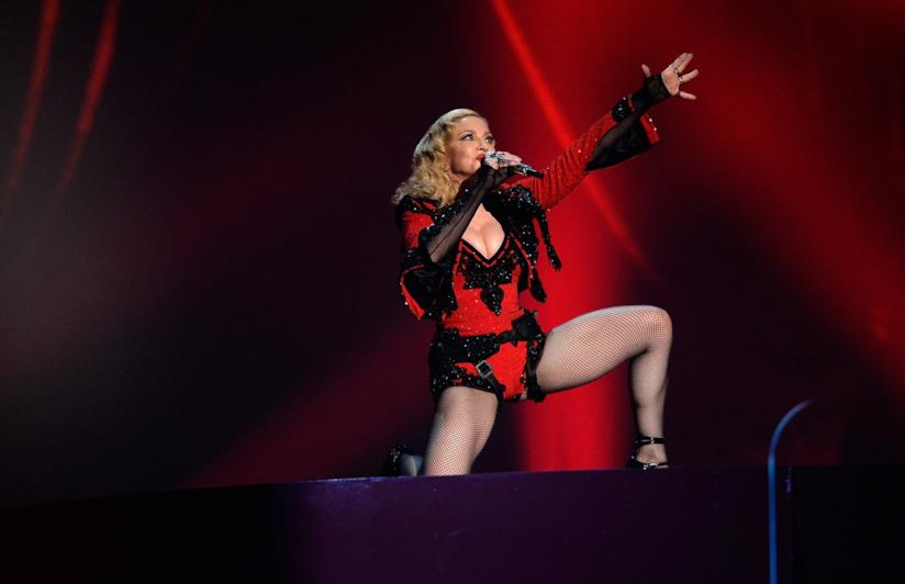 Madonna, cantante
