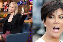 L'attrice Jennifer Lawrence e la reality star Kris Jenner