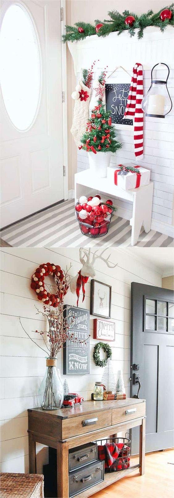 Come addobbare casa a natale for Arredamento natalizio casa