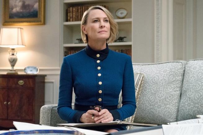 Robin Wright è Claire Underwood