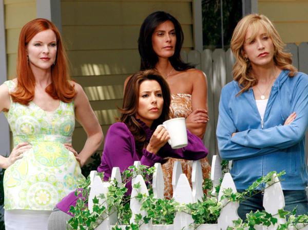 Marcia Cross, Eva Longoria, Teri Hatcher e Felicity Huffman