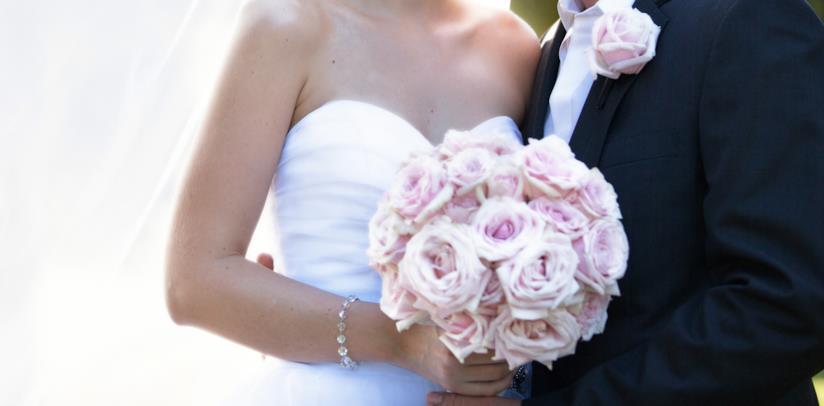 Bouquet rose rosa sposa
