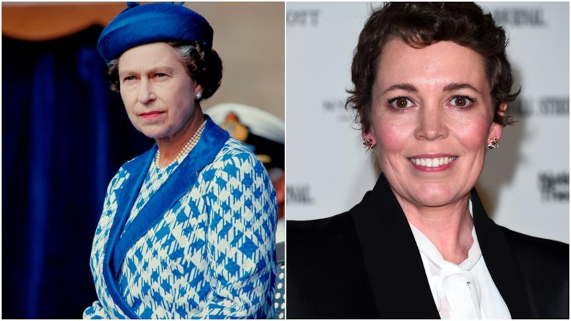 Regina Elisabetta II e Olivia Colman