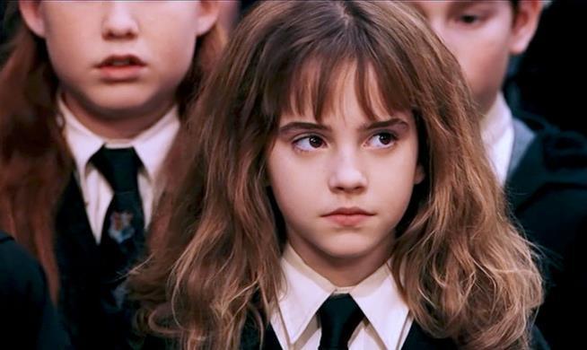 Emma Watson nel ruolo di Hermione
