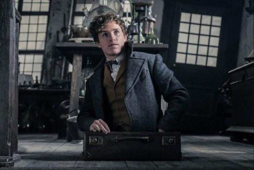 Eddie Redmayne in Animali Fantastici: I Crimini di Grindelwald