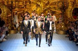 Milano Moda Uomo MFW sfilata D&G