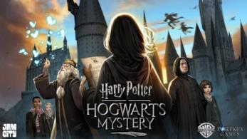 Harry Potter: Hogwarts Mystery, la copertina del videogame.