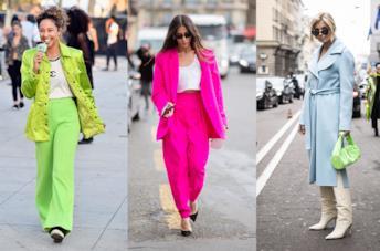 Abbinamenti e outfit con capi e accessori fluo