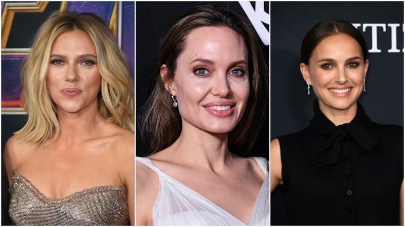Scarlett Johansson, Angelina Jolie e Natalie Portman