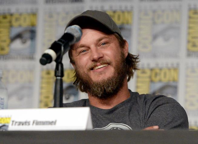 Travis Fimmel all'evento GQ Men of The Year