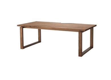MÖRBYLÅNGA Tavolo in legno