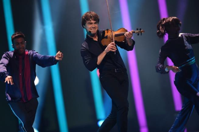 L'esibizione di Alexander Rybak all'Eurovision Song Contest 2018