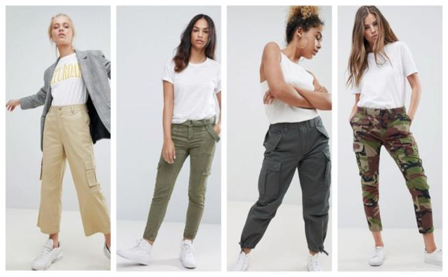 In stile safari, pantaloni cargo per l'estate 2018