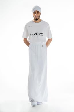 Sfilata XANDER ZHOU Collezione Uomo Primavera Estate 2020 Londra - XANDER ZHOU ss2020 look 40