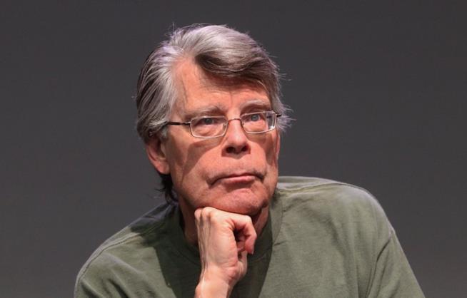 Un'immagine dello scrittore Stephen King