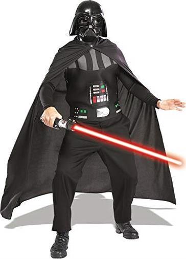 Star Wars - Costume da Dark Vader (Dart Fener) con Spada Laser