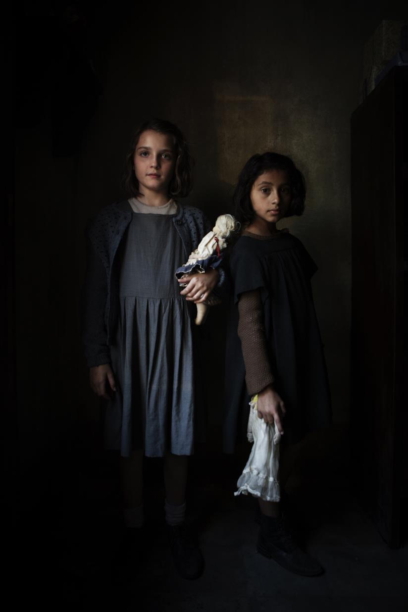 Le due bambine protagoniste de L'amica geniale