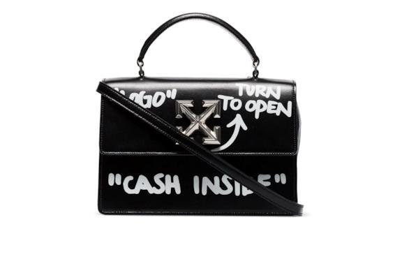 La borsa Borsa tote Itney 1.4 Cash Inside Off-White