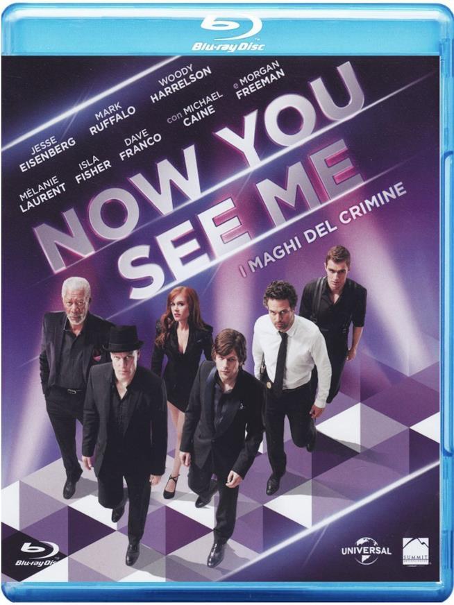 Cofanetto Blu-ray di Now You See Me