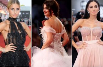 Collage di look di tulle a Venezia