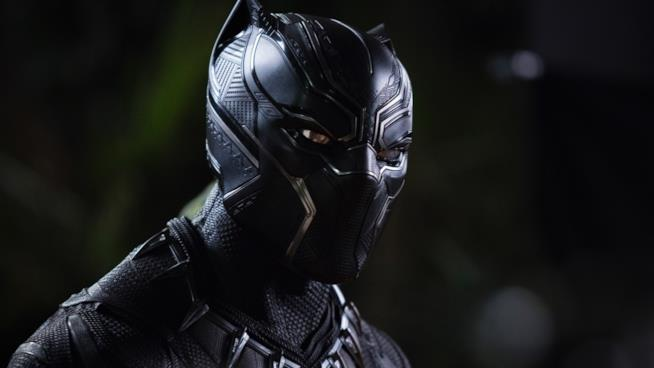 Black Panther nell'omonimo film Marvel