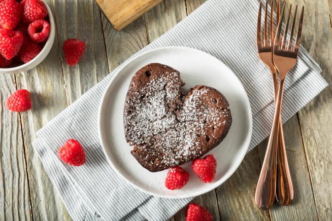 Dolci di San Valentino al cioccolato