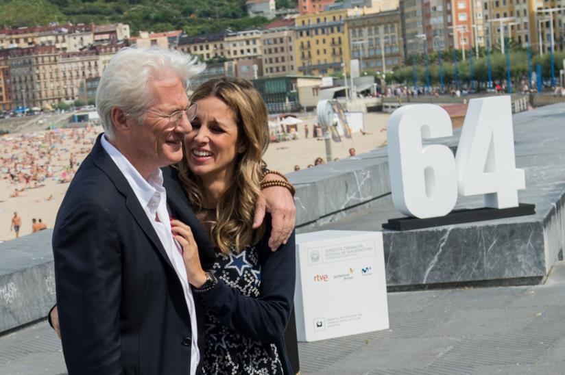 Alejandra Silva e Richard Gere