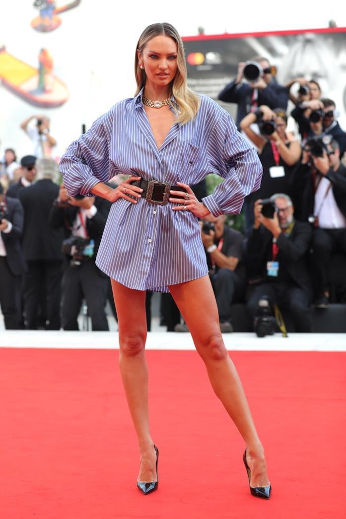 Candice Swanepoel in Venice
