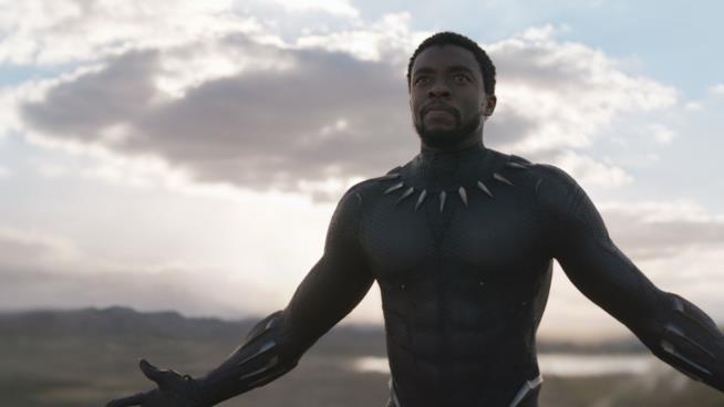 Una scena di Black Panther