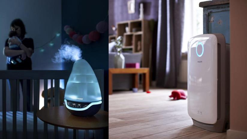 Umidificatori: a caldo, a freddo o i classici diffusori da appendere al termosifone. Quale Scegliere?