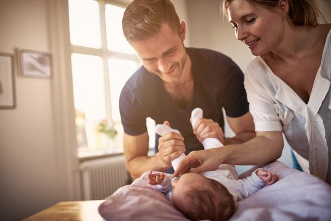 Mamma, papà e figlio