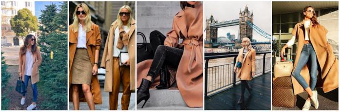 Abbinamenti cappotto cammello
