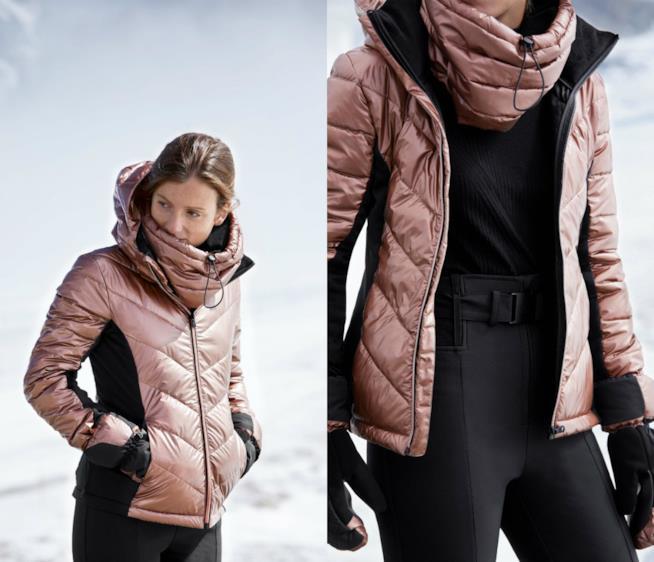 Giacca rame di moda per l'inverno 2018