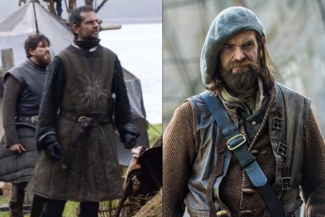 Duncan Lacroix in game of thrones e in outlander