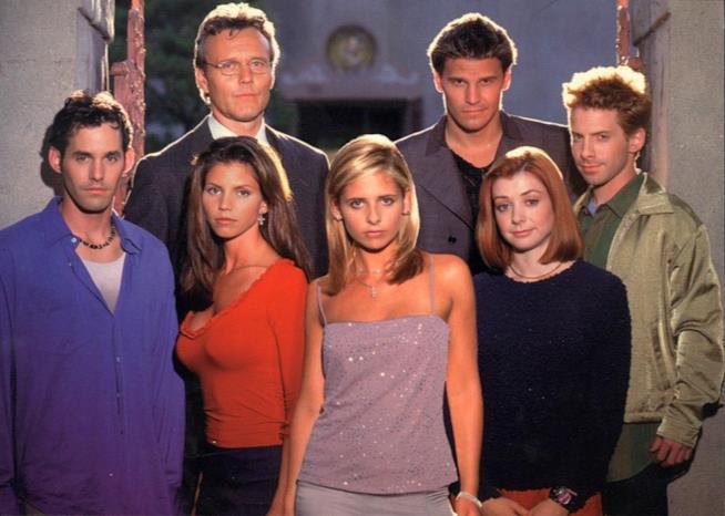 Il cast originale di Buffy l'ammazzavampiri