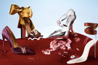 La collezione di scarpe Star Wars di Louboutin