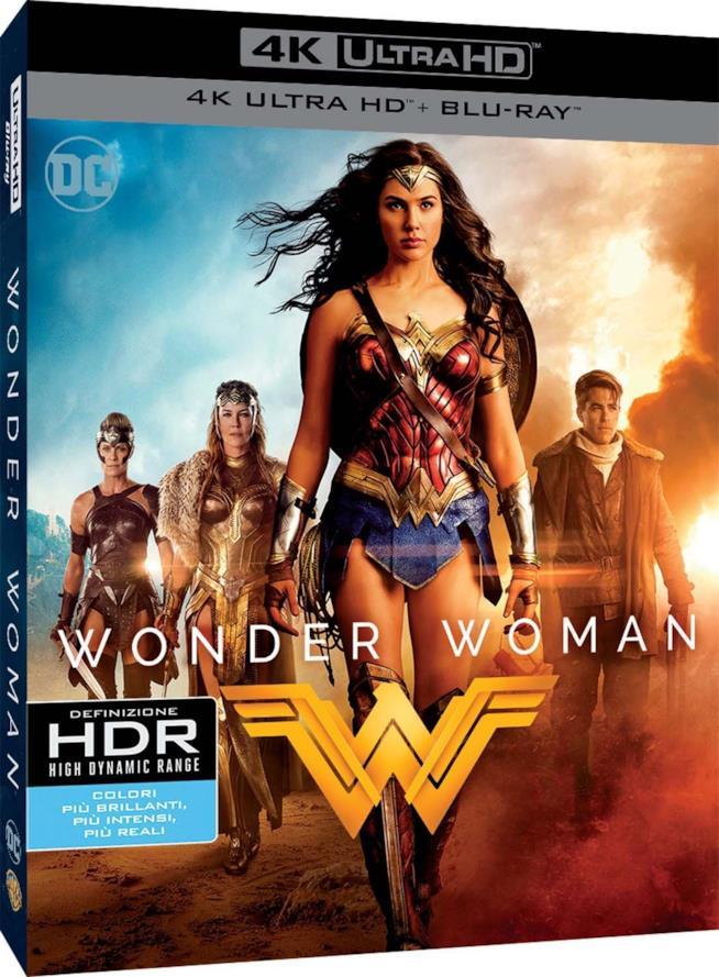 Wonder Woman Blu-Ray edizione 4K