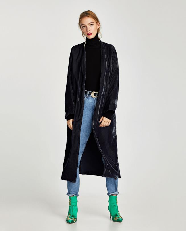 Cappotto lungo autunno inverno 2017 2018 Zara