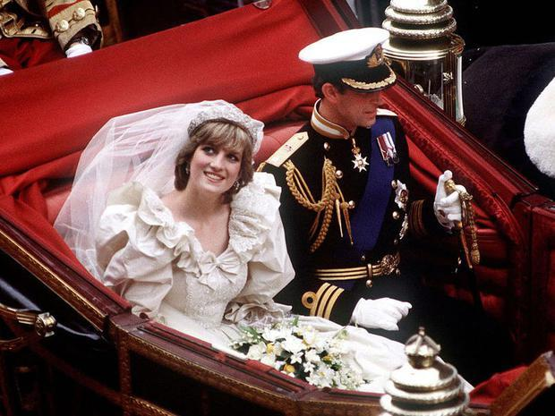 Carlo e Diana sposi