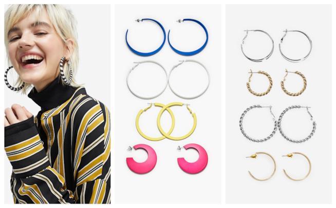 Colorati e a cerchio, gli orecchini moda P/E 2018