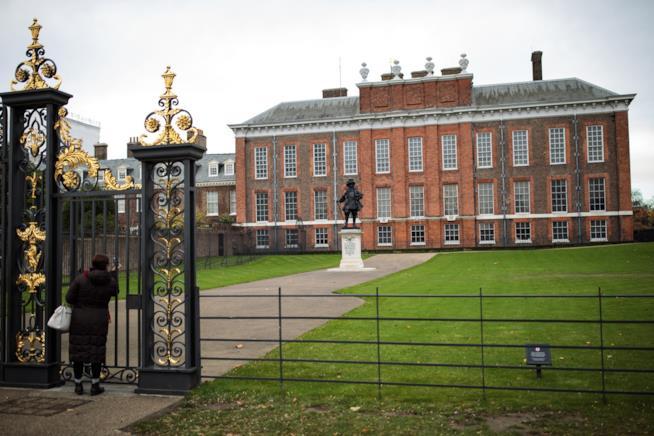 La facciata di Kensington Palace