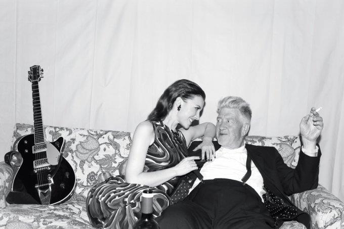 David Lynch e la sua musa Chrysta