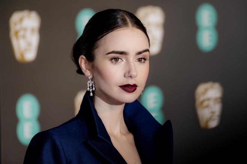 L'attrice Lily Collins