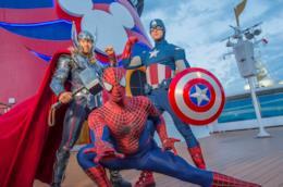 I supereroi Marvel dei parchi Disney